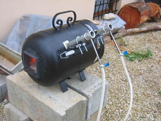 fabriquer un barbecue avec une bouteille de gaz. Black Bedroom Furniture Sets. Home Design Ideas