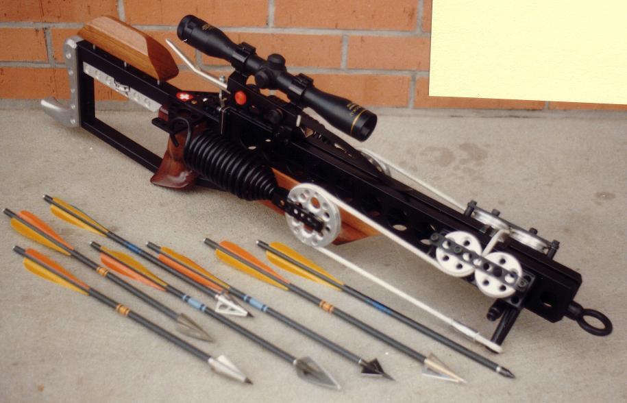 Cobra Pistol crossbow modding - Slingshot Crossbows