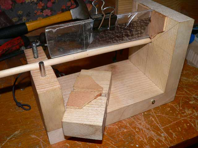 empeneuse home made fabrication des fl ches webarcherie le forum du tir l 39 arc. Black Bedroom Furniture Sets. Home Design Ideas